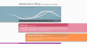 Alex's photoblog site